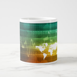 Virtual Business Platform 20 Oz Large Ceramic Coffee Mug