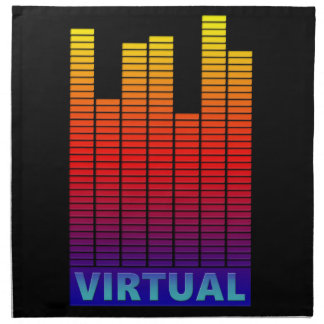Virtual levels. napkin