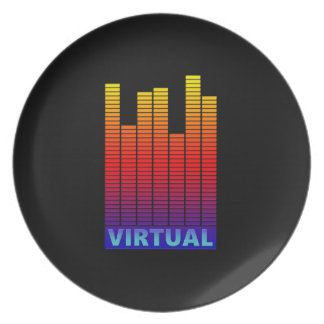 Virtual levels. party plate