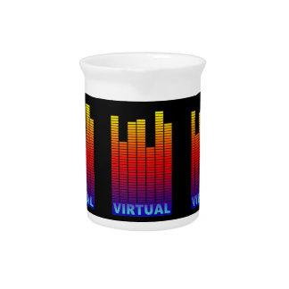 Virtual levels. pitchers