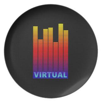 Virtual levels. plate