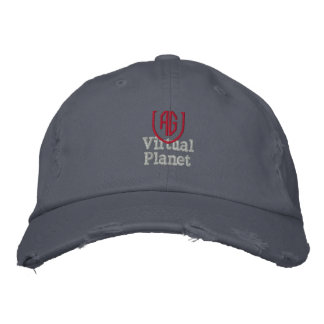 Virtual Planet Scotland Blue Hat Embroidered Baseball Caps