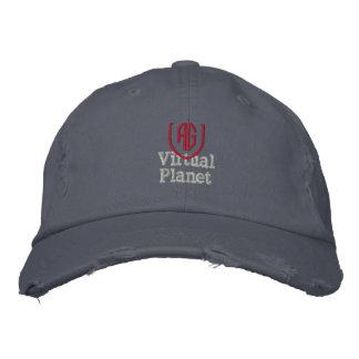 Virtual Planet Scotland Blue Hat Embroidered Baseball Caps