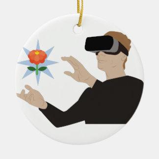 Virtual Reality Christmas Ornament