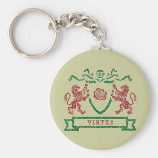 Virtus Blazon Keychain