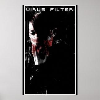 Virus filter poster