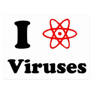 Viruses Postcard