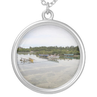 Visayan fishing boats necklace