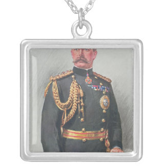 Viscount Kitchener of Khartoum Silver Plated Necklace