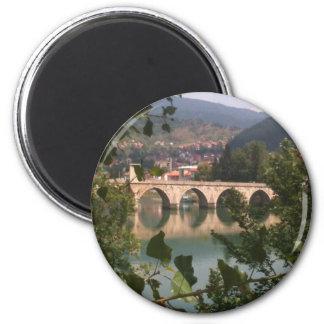 Visegrad 6 Cm Round Magnet