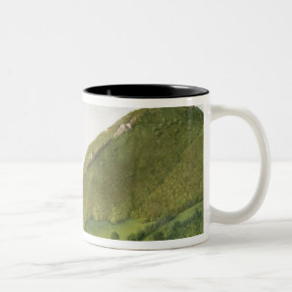 Visegrod, Hungary Two-Tone Coffee Mug