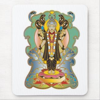 Vishnu Hindu Deity God Mouse Pad