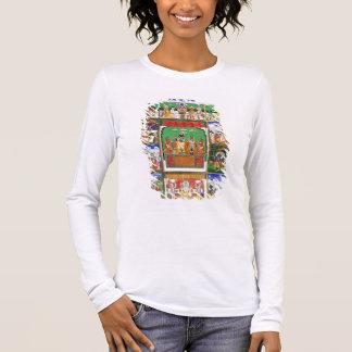 Vishnu in the centre of his ten avatars, Jaipur, R Long Sleeve T-Shirt