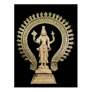Vishnu, Late Chola Postcard