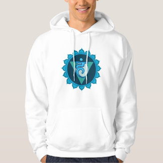 Vishuddha or Throat Chakra Men's Hooded Sweatshirt