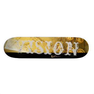 Vision 1025 custom skateboard