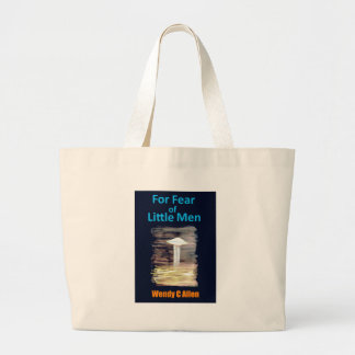 VISION-D8 painting book front cover titled Jumbo Tote Bag