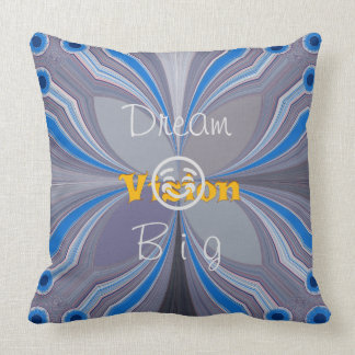 "Vision dream perfect nice lovely home decor "" cushion"