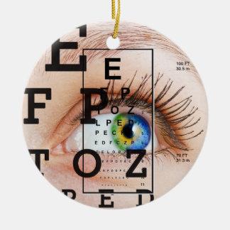 Vision / Eye Doctor - SRF Christmas Ornament