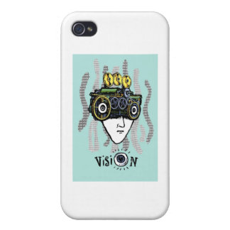 Vision Cover For iPhone 4