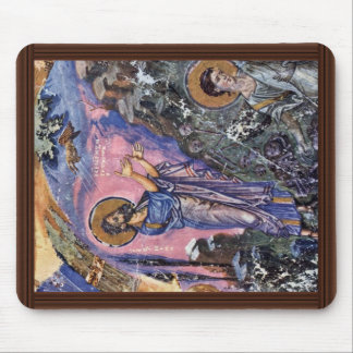 Vision Of Ezekiel (Bibliothèque Nationale De Franc Mouse Pad