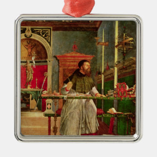 Vision of St. Augustine, 1502-08 Christmas Ornament