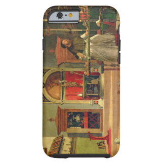 Vision of St. Augustine, 1502-08 (oil on canvas) ( Tough iPhone 6 Case