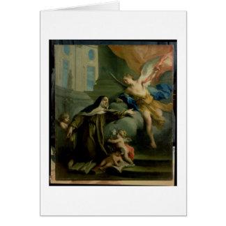 Vision of St. Teresa Card