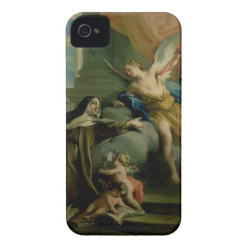 Vision of St. Teresa iPhone 4 Cover