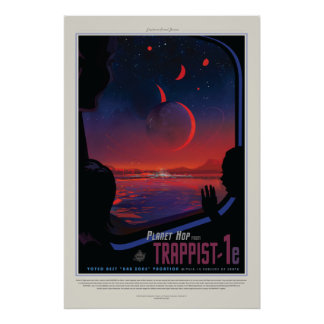 Vision of the Future Poster: Planet Trappist-1e Poster