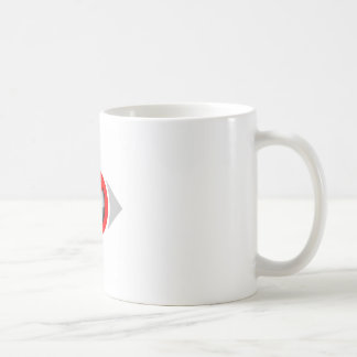 Vision Restricted graphic Coffee Mugs