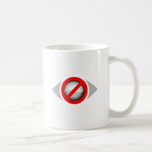 Vision Restricted graphic Coffee Mug