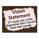Vision Statement Postcard
