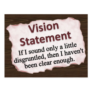 Vision Statement  Post Cards