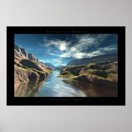 Visionary Canyon Poster