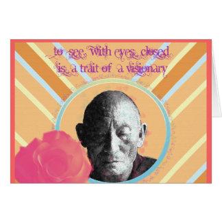 Visionary Greeting Card