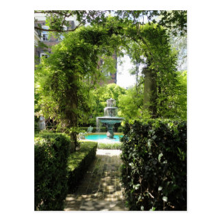 Visions of Charleston Fountain Postcard