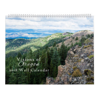 Visions of Oregon Calendar 2018