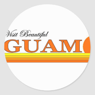 Visit Beautiful Guam Sticker