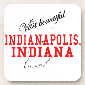 Visit Beautiful Indianapolis Beverage Coasters
