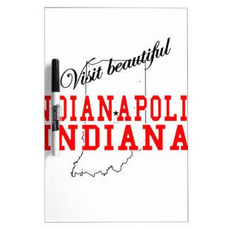 Visit Beautiful Indianapolis Dry-Erase Board