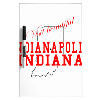 Visit Beautiful Indianapolis Dry-Erase Whiteboard