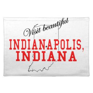 Visit Beautiful Indianapolis Placemat
