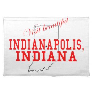 Visit Beautiful Indianapolis Place Mats