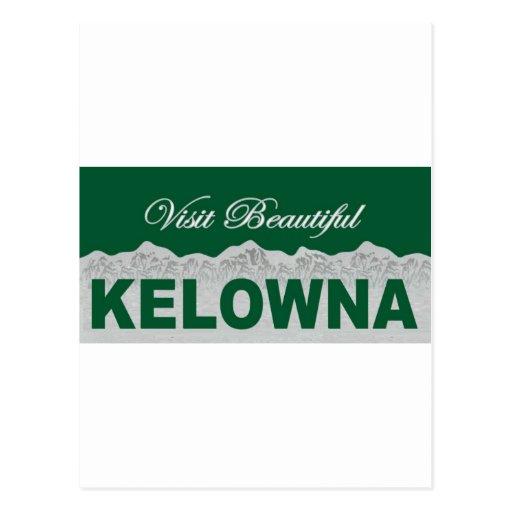 Visit Beautiful Kelowna Post Cards