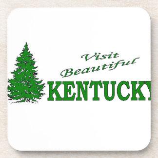 Visit Beautiful Kentucky Beverage Coaster