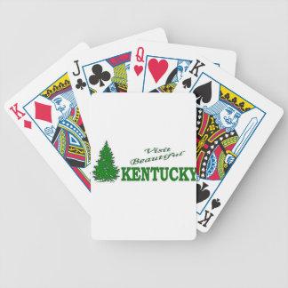 Visit Beautiful Kentucky Bicycle Poker Cards