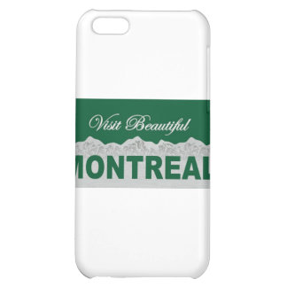 Visit Beautiful Montreal iPhone 5C Covers