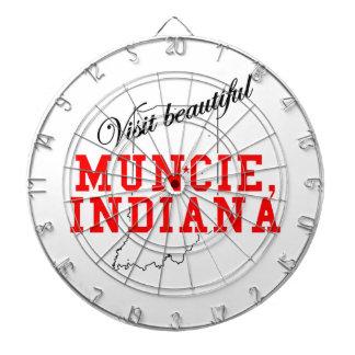 Visit Beautiful Muncie, Indiana Dartboards