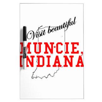 Visit Beautiful Muncie, Indiana Dry-Erase Whiteboards